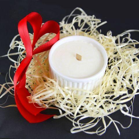Świeczka sojowa w porcelanie